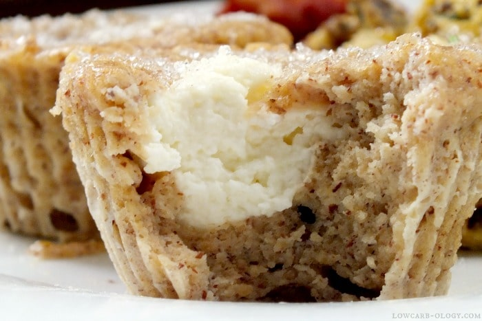 Low Carb Cheese Danish Muffins