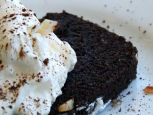 Low-carb chocolate pound cake is perfect for any occasion.