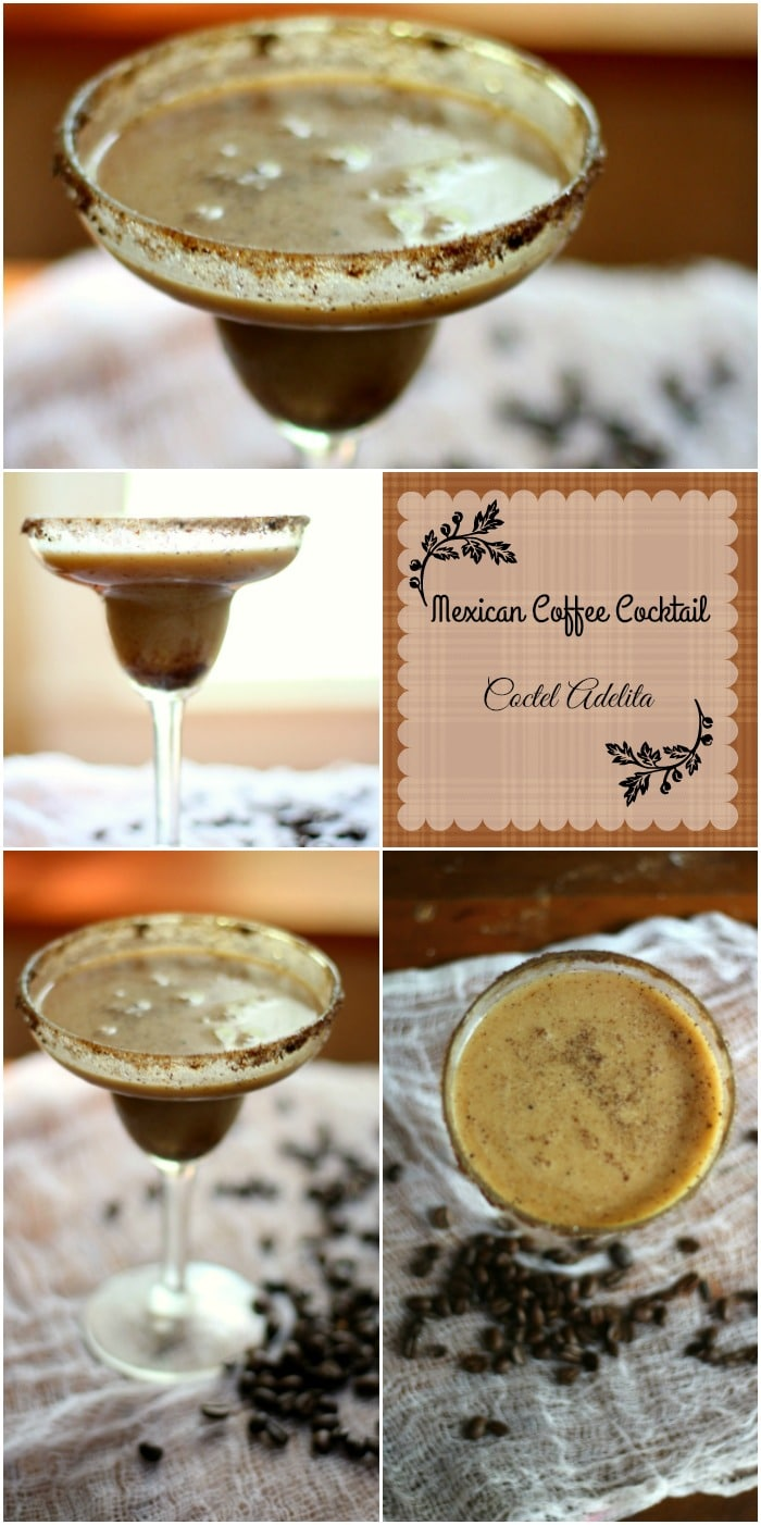 This Mexican coffee cocktail, also called Coctel Adelita, has less than one carb per yummy serving! Perfect for Cinco de Mayo! From Lowcarb-ology.com