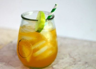 Low Carb Caribbean Rum Punch - Perfect for summer parties! From lowcarb-ology.com