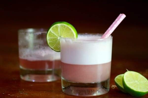 Low Carb Cherry Gin Fizz is a sweet twist on the classic. So yummy! From lowcarb-ology.com