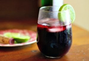 This low carb red sangria recipe is about to be your favorite! Just 3 carbs per 8 ounce glass.