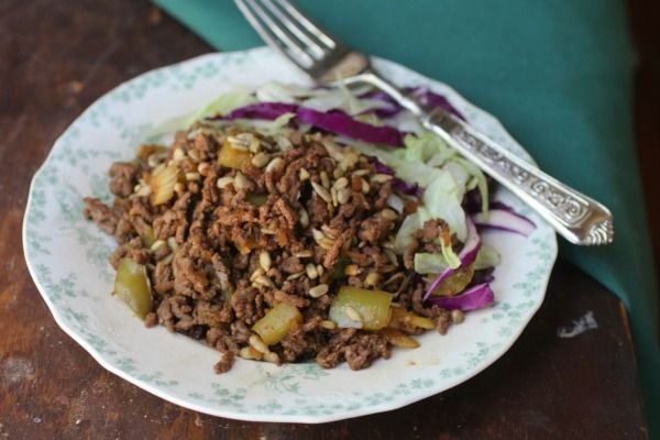 This low carb Asian beef salad is so easy! from Lowcarb-ology.com