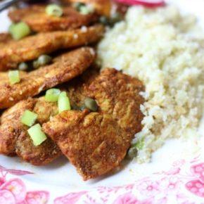 Keto Chicken Shawarma