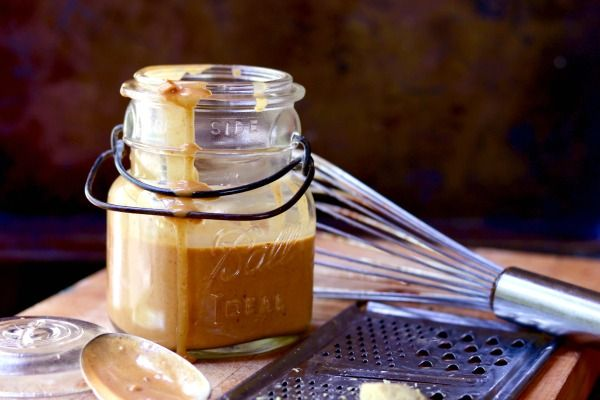 Spicy Thai peanut sauce recipe is low carb - the best homemade peanut sauce ever! Spicy and addictive . From lowcarb-ology.com