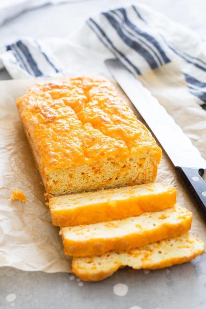 Keto Cheddar Bread